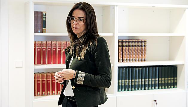 Imatge de la ministra de Cultura i Esports, Sílvia Riva.