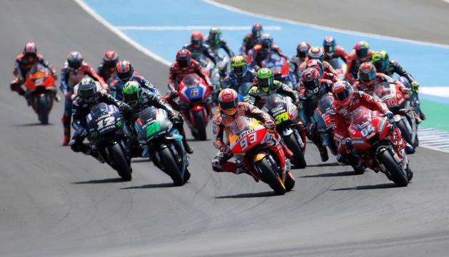 Cursa anterior del Mundial de MotoGP.
