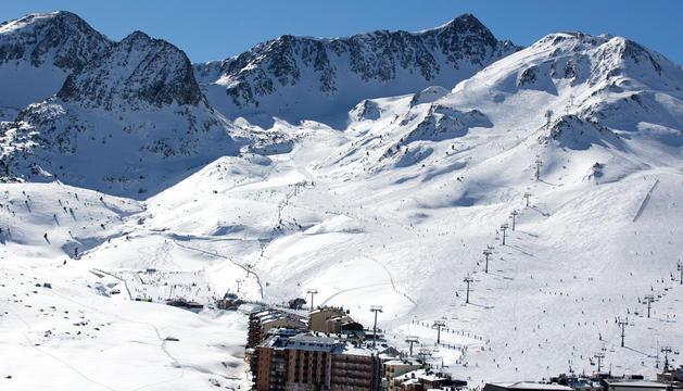 Les pistes d'esquí del Pas de la Casa.