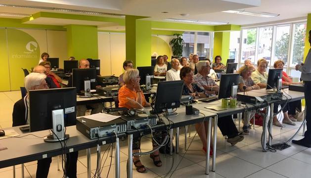 Una sessió anterior de l'Espai de la Fundació Crèdit Andorrà.