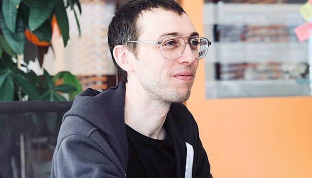 L'empresari Marc Visent, teletreballant des dels Estats Units.