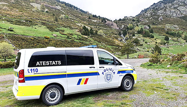 El cos de policia incorpora un nou vehicle