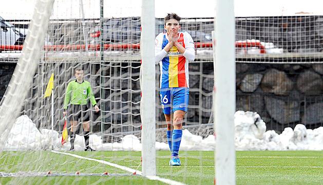 L'FC Andorra ja va donar per acabada la temporada.