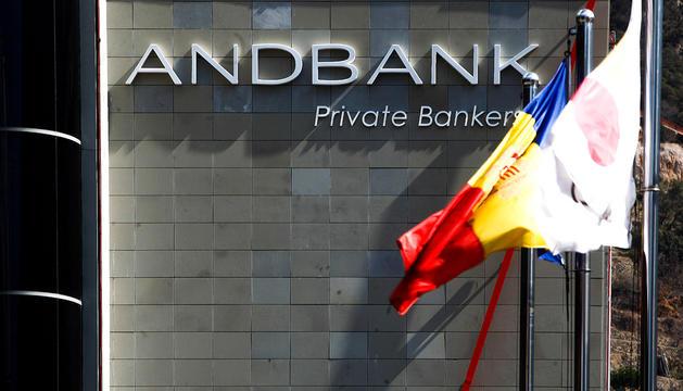 La seu de les oficines d'Andbank.