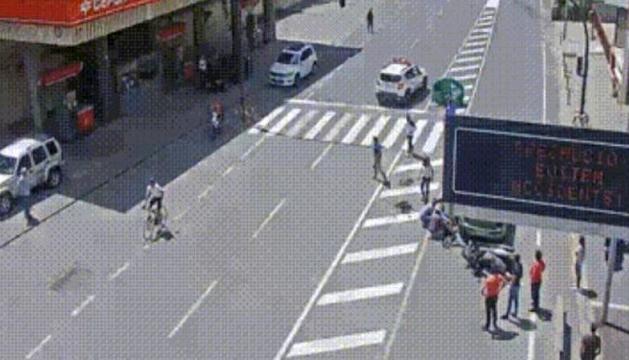 Accident a la zona de la Bartra