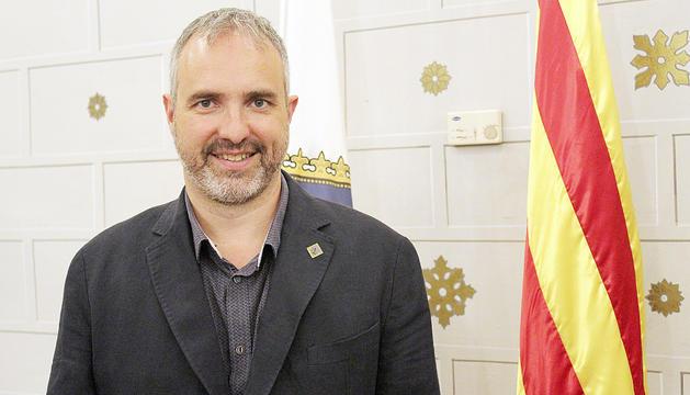 L'alcalde de la Seu d'Urgell, Jordi Fàbrega.