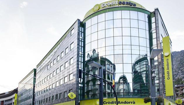 Imatge de l'edifici de Crèdit Andorrà.