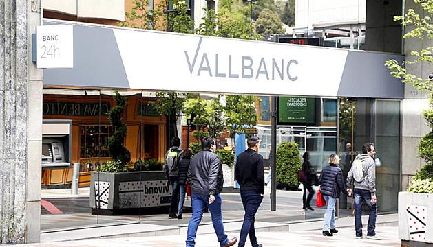 Seu central de Vall Banc, a l'avinguda Carlemany.