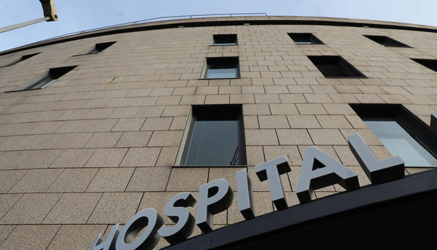 Exterior de l' Hospital Nostra Senyora de Meritxell