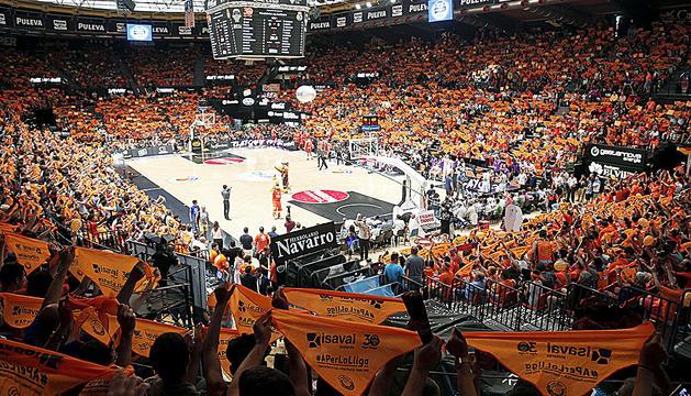 La Fonteta, a València, és la seu preferida per l'ACB per acollir la fase final.