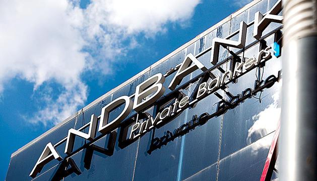 Les oficines principals d'Andbank.