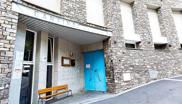 La cantina de l'escola francesa d'Escaldes.