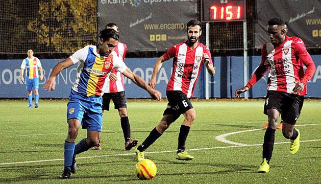 Duel de l'FC Andorra B aquesta temporada.