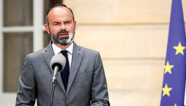 El primer ministre Philippe.