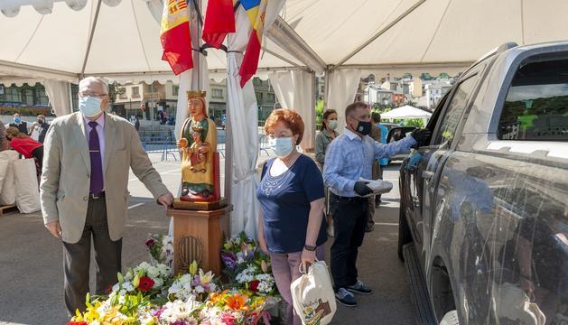 Els lauredians han celebrat la diada de Canòlich amb mascareta lluny del santuari