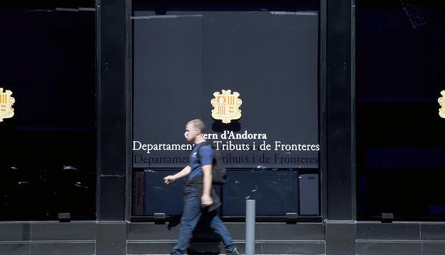 Seu del departament de Tributs i Fronteres.