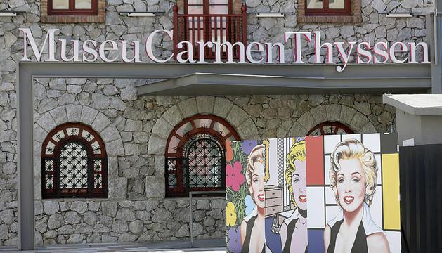 El Museu Carmen Thyssen.