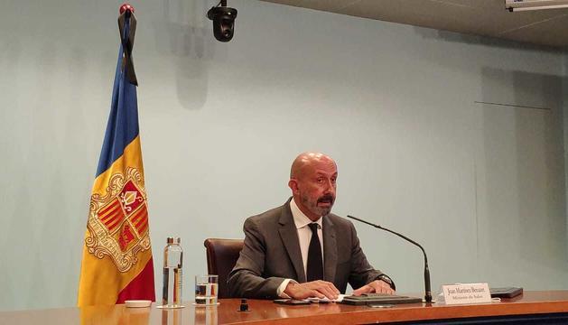 Joan Martínez Benazet ha informat de la detecció de tres casos a Salita