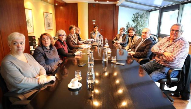 El nou consell d'administració de la CASS.