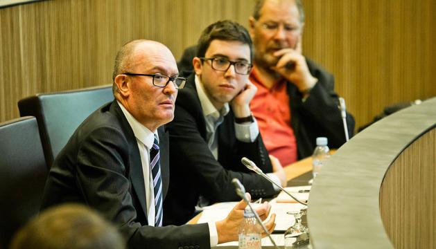 El conseller general del PS, Joaquim Miró