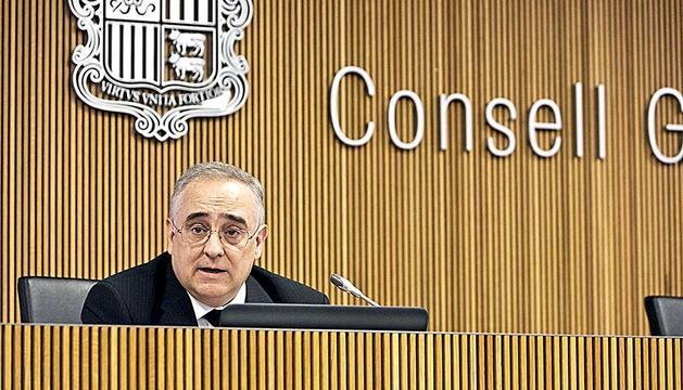 El president del consell d'administració de la CASS, Albert Font.