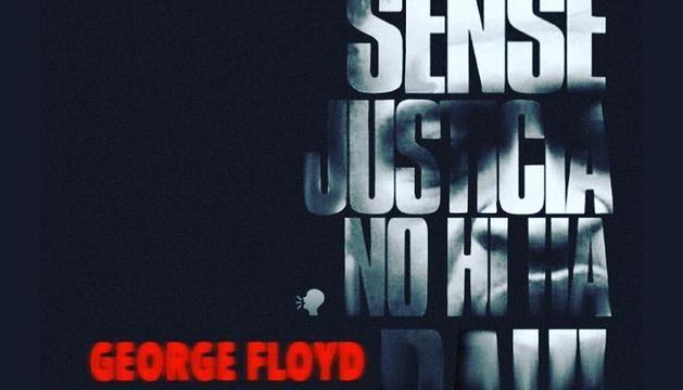 Manifestació contra la mort de George Floyd