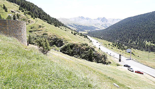 La pista estaria situada entre les Bordes d'Envalira i Grau Roig.