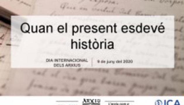 Exposició virtual 'Quan el present esdevé història (1975-2020). L'Arxiu com a garantia de futur'