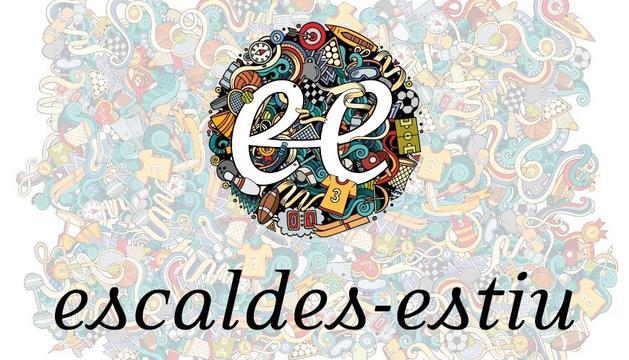 El logo de les activitats d'estiu d'Escaldes-Engordany