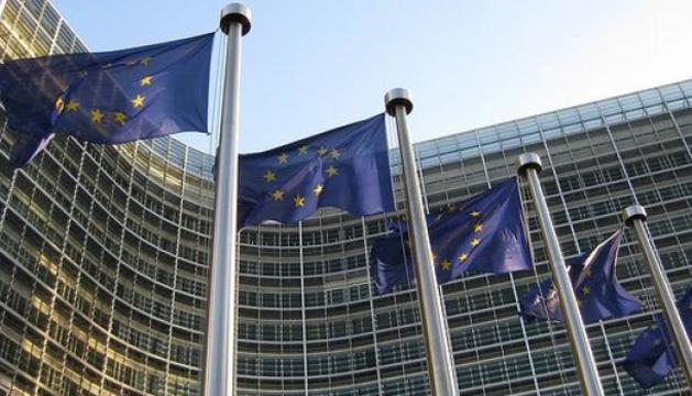 Façana de la seu de la Comissió Europea a Brussel·les.