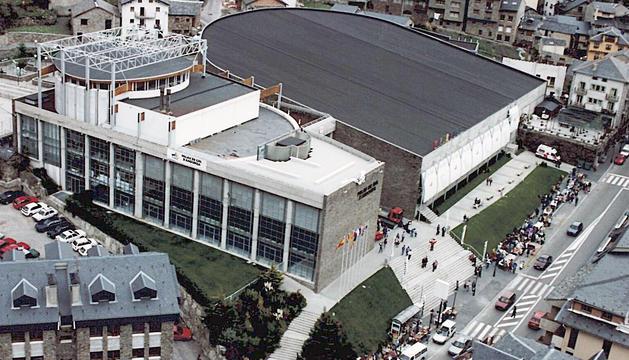 La construcció del Palau de Gel va finalitzar l'any 1987.