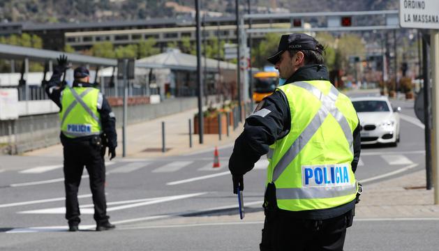 La policia va imposar 15 sancions.