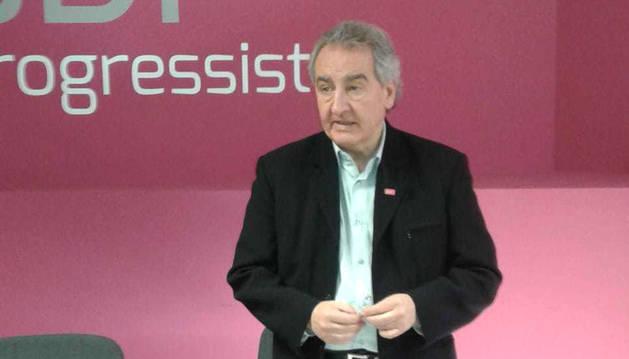 El líder de Progressistes-SDP, Jaume Bartumeu.