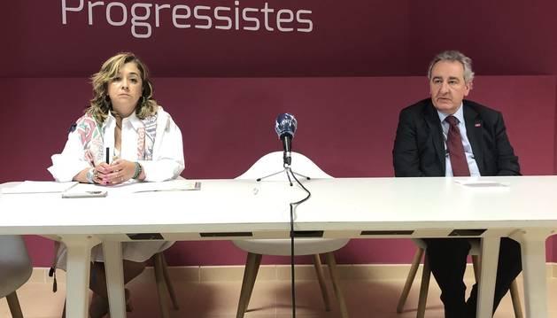 El president d'Progressistes-SDP, Jaume Bartumeu