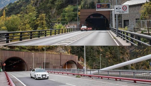 Els túnels que estaran tallats entre demà i dijous