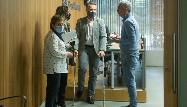 Ferran Costa, protegit pels companys de partit