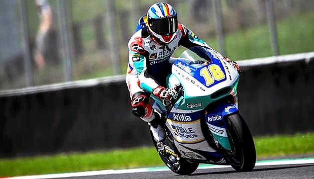 Xavi Cardelús ja coneix el calendari de l'Europeu de Moto2.