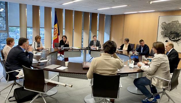 La reunió de la Junta de Presidents d'avui.