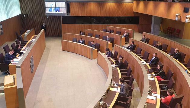La sessió del Consell General