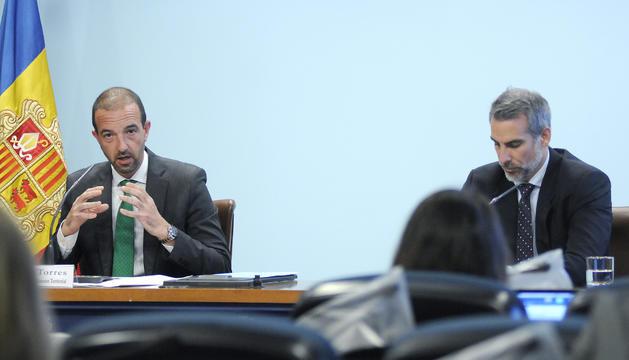El ministre Jordi Torres