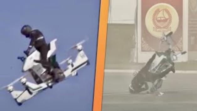 Accident de la 'moto-dron'