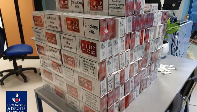 Part del tabac provinent d'Andorra