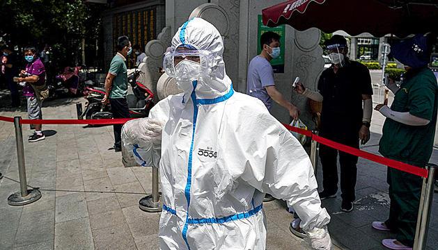 La ciutat de Pequín va detectar un brot de Covid-19 al mercat de Xinfadi, on ja consten 158 contagis.