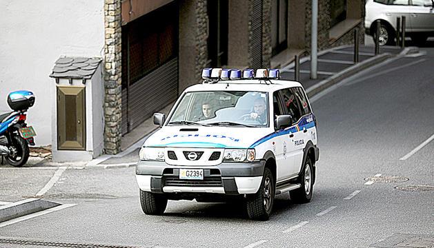 Una patrulla del cos de policia.