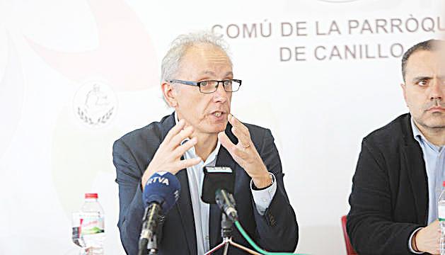 El cònsol major,Francesc Camp.