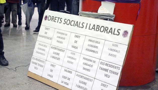 Un acte polític de Podem Andorra.