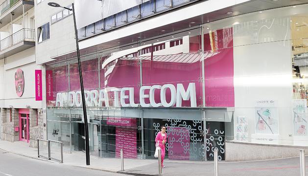 Oficines d'Andorra Telecom a Andorra la Vella.
