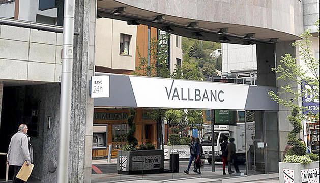 La façana de Vall Banc a Escaldes-Engordany.