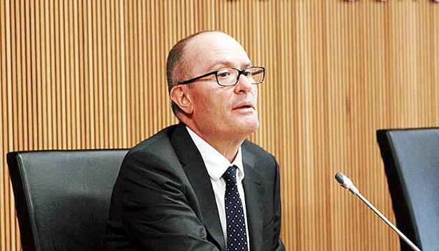 El conseller general del PS Quim Miró.