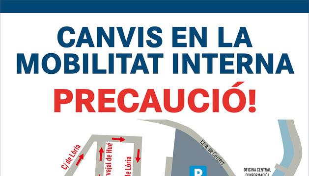 Canvis de circulació per descongestinar la plaça Laurèdia